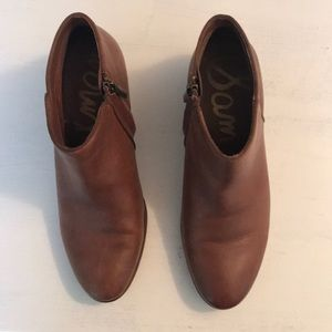 Sam Edelman Brown booties